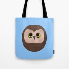 Chubby Little Owl Tote Bag