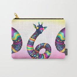 Spontaneus Giraffe Carry-All Pouch
