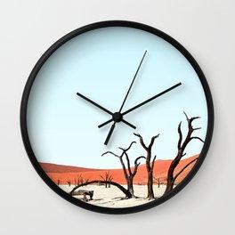 Deadvlei IIII Wall Clock