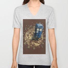The Doctor?! Unisex V-Neck