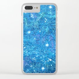 NOCTCAELADOR (love of the night sky) - celestial abstract prophetic art SOUTHERN CROSS STARS Clear iPhone Case