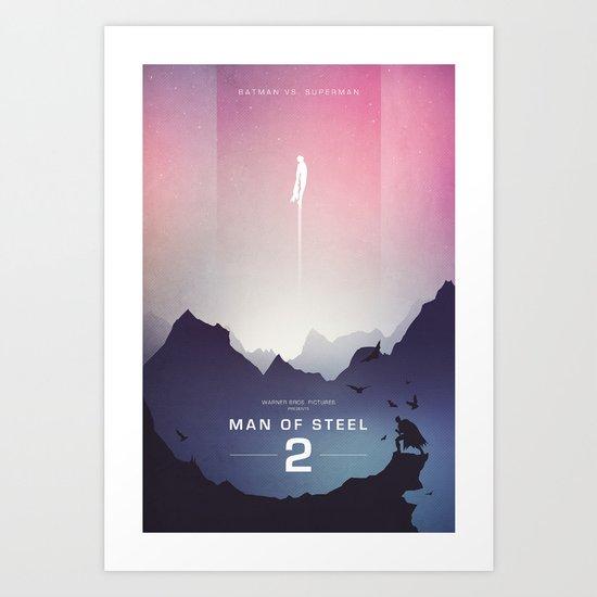 Man of Steel Poster Art Print