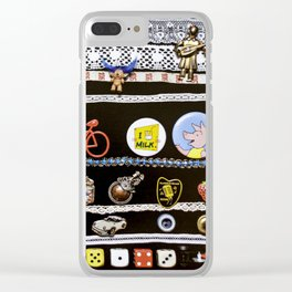 Grandmothers things Clear iPhone Case