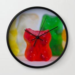 Losing My Mind (The Gummie Bears Photo Original) Wall Clock
