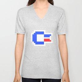 Pixel C64 Unisex V-Neck