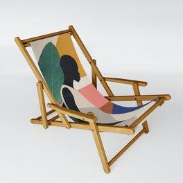 Tropical Girl Sling Chair