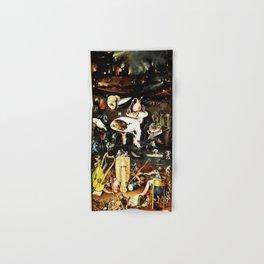 Bosch Garden Of Earthly Delights Panel 3 - Hell Hand & Bath Towel