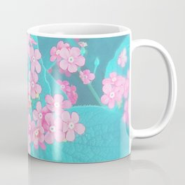 Forget Me Knot - Pink Heart little flowers Coffee Mug