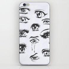 anime eyes iPhone & iPod Skin