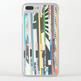 STRIPES 33 Clear iPhone Case