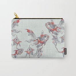 Floating in Deep Carry-All Pouch