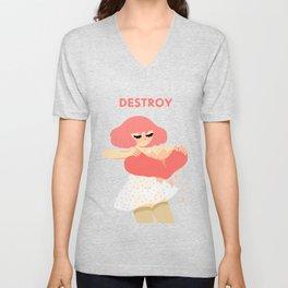 Destroy Unisex V-Neck