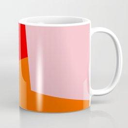 red orange pink Coffee Mug