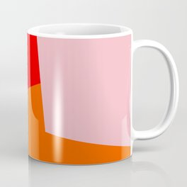 red orange pink Coffee Mug