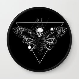 God Moth Wall Clock