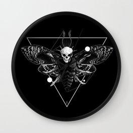 God Moth Wall Clock