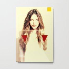 Woman N62 Metal Print