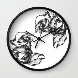 Sea-dragon Male Wall Clock