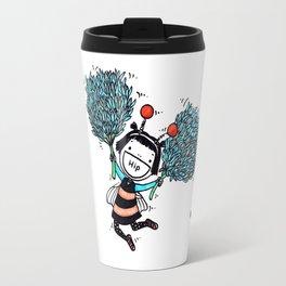 Hip Hip Hooray (Three Cheers for Chives) Travel Mug