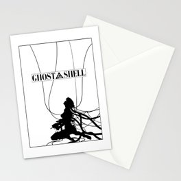 Ghost In The Shell (w/ Frame) Stationery Cards