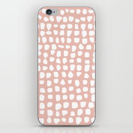 Dots / Pink iPhone Skin