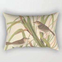 Naturalist Finches Rectangular Pillow