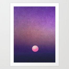 Gradient Sky #4 Art Print