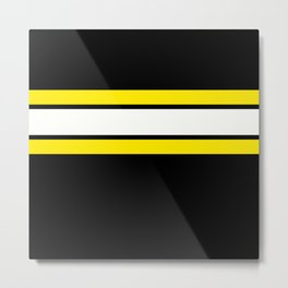 Team Colors 2..yellow Metal Print
