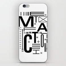 METAL FICTION iPhone & iPod Skin