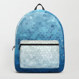 Industrial Blue Backpack