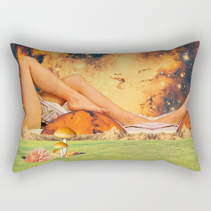 Legs & planet Rectangular Pillow