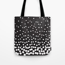 GRAY + WHITE Tote Bag