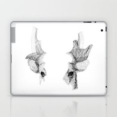 Spotted Deer - Can You See How Much Is Left? Laptop & iPad Skin
