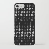mythology iPhone & iPod Cases featuring Moon Cycle Mythology by Rhymes With Sky