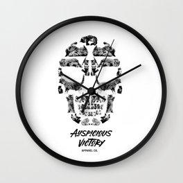 Kitten Skull Wall Clock