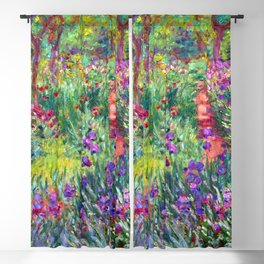 Claude Monet Garden in Giverny Blackout Curtain