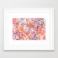 sprinkles Framed Art Prints featuring Sprinkles by Flavia Dacol