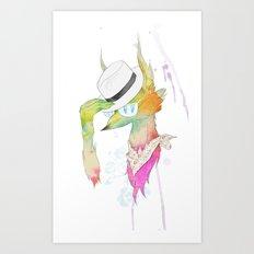 Rock the Floral Art Print