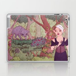 Wolf In The Woods Laptop & iPad Skin