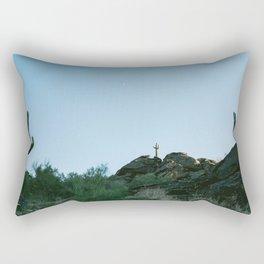 Arizona Desert Moon Rectangular Pillow