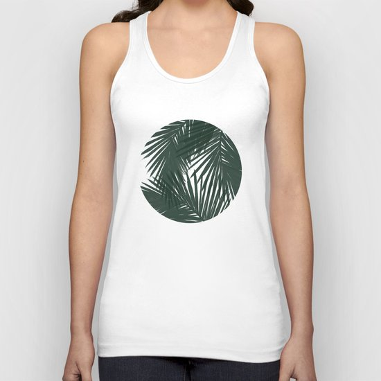 Palms Green Unisex Tank Top