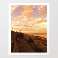 Way to The Infinity Art Print
