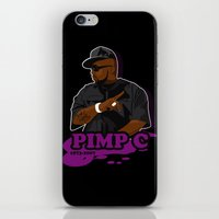 chad wys iPhone & iPod Skins featuring Chad 'Pimp C' Butler by Chad Trutt