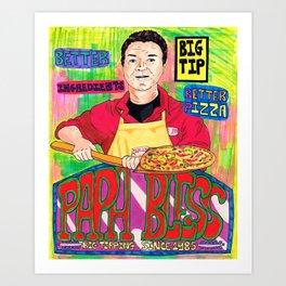 Papa Bless Art Print