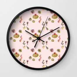 Don't Be A Prick (pink) Wall Clock