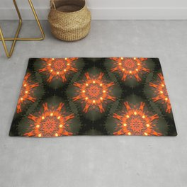 On Fire..... Rug