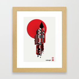 Brutalist Japan, The Nakagin Capsule Tower Framed Art Print