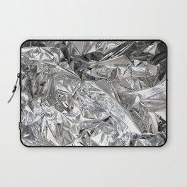 Silver Mylar Balloon Laptop Sleeve