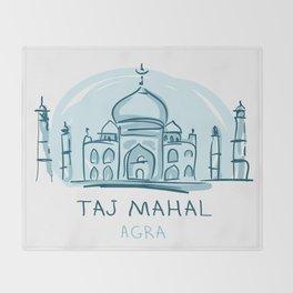 Agra 01 Throw Blanket