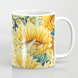 Vintage Garden (Sunflower Paradise) Coffee Mug